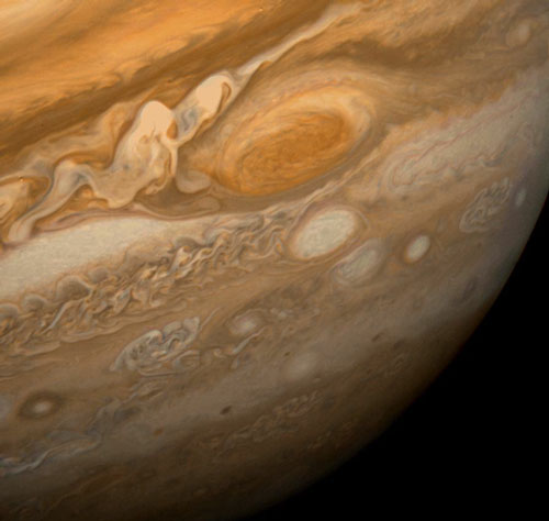 سیاره ی مشتری ابر سیاره ی منظومه ی شمسی